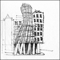 architectural record napkin sketch
